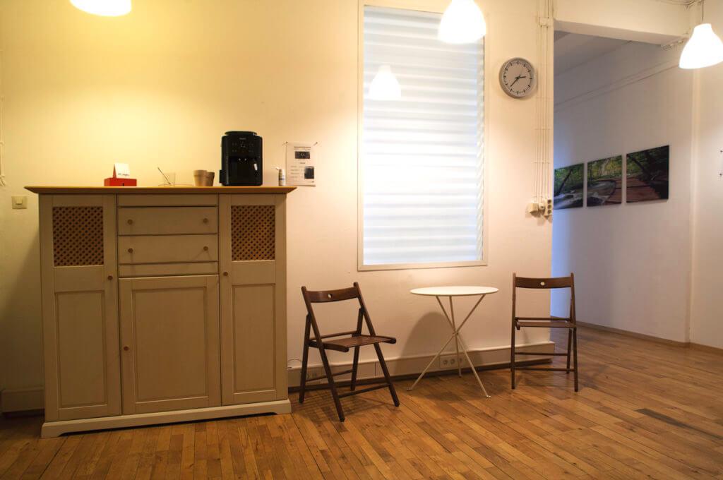 Foyer im Entwicklungsraum