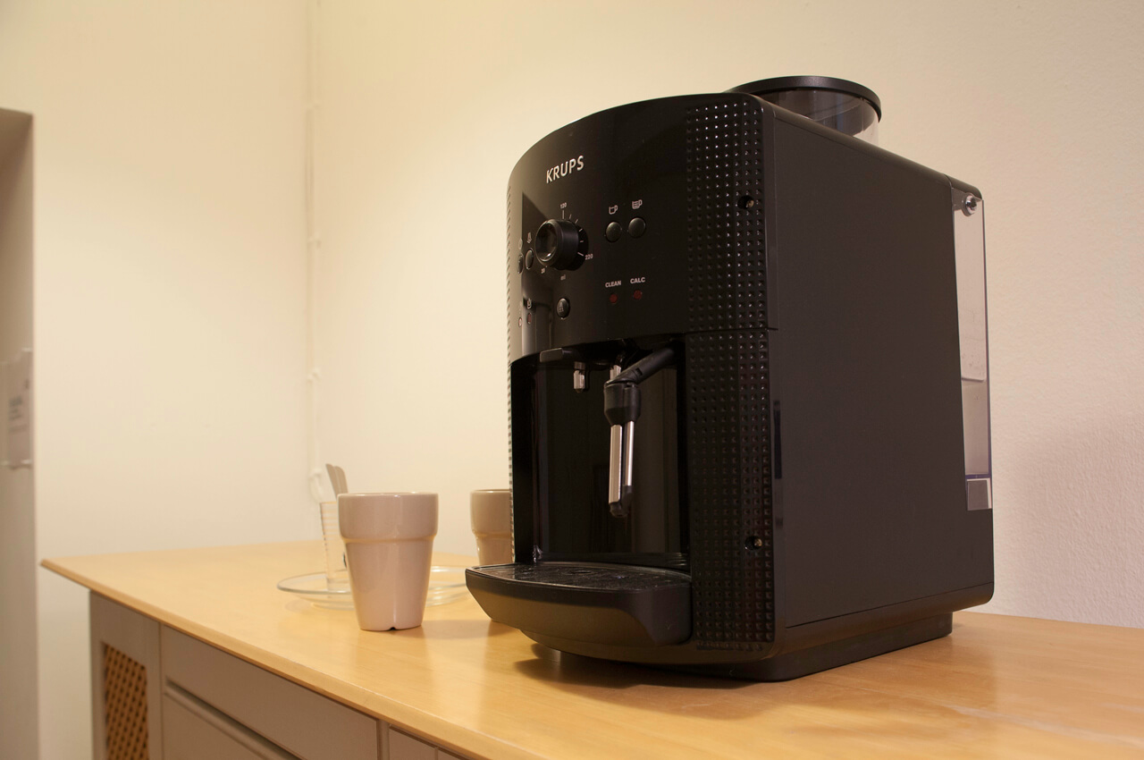 Kaffee auf Knopfdruck